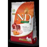 N&D Pumpkin Chicken & Pomegranate Adult Mini Dog Food